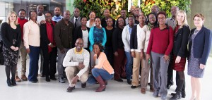 DC employees with delegates from Barbados and Guyana