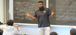 The Cypher: Black Male Empowerment Conference provided black male students from grades 8-10 with the opportunity to learn about future academic pathways and positive transitions.