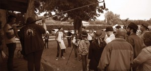 DC staff and students host a filmmaking demonstration.