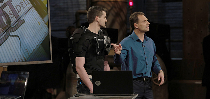 Durham College (DC) is proudly congratulating research partner, IFTech (Inventing Future Technology Inc.), for successfully securing a deal for its wearable technology, As Real As It Gets (ARAIG), during the February 15 episode of CBC's hit-show Dragon's Den.