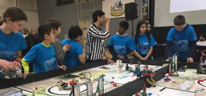 Students compete at the annual FIRST® LEGO® League Ontario East Provincial Championship