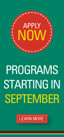 Apply to programs starting in September