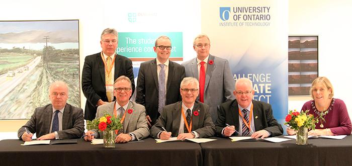 Durham college forges stronger ties with irish institutions durham college oshawa ontario - Durham college international office ...