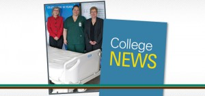 Durham College supports Lakeridge Health Whitby with Buy a Bed donation