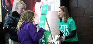 Durham College staff and students interacting at Open House