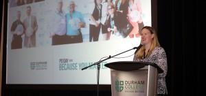 Keynote speaker Sami Jo Small speaks at DC's PD Day