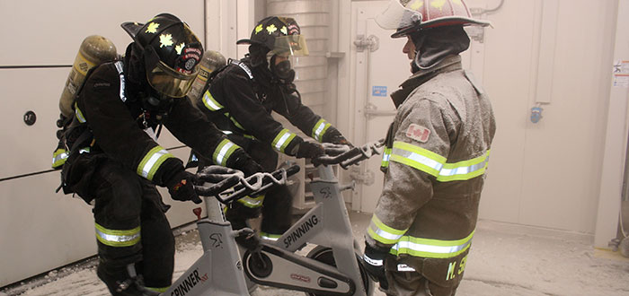 Firefighter – Pre-service, Education and Training students.