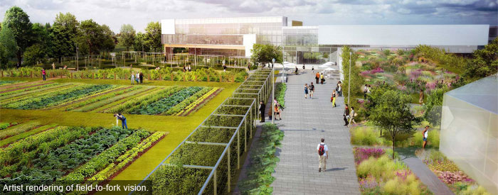 Durham College's Centre for Food (rendering)