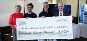 Roger Anderson Charity Classic raises $327,000 for DC, UOIT and Ontario Shores