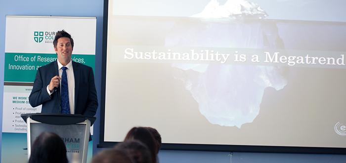 Ryan Turnbull, founder and president of Eco-Ethonomics Inc.