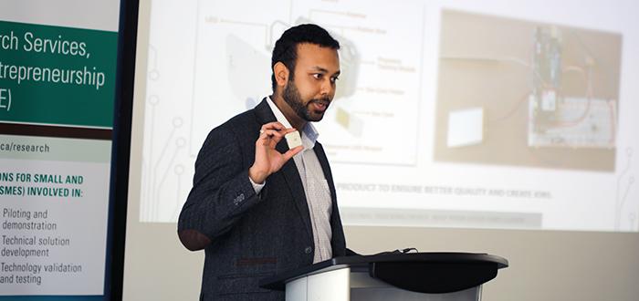 WeTraq CEO and founder Ishaan Singla
