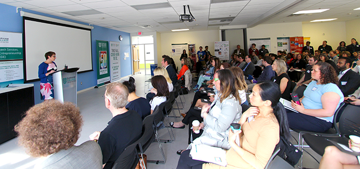 Durham College's (DC) Office of Research Services, Innovation and Entrepreneurship (ORSIE) hosted its seventh annual Research Day at the college's Oshawa campus.