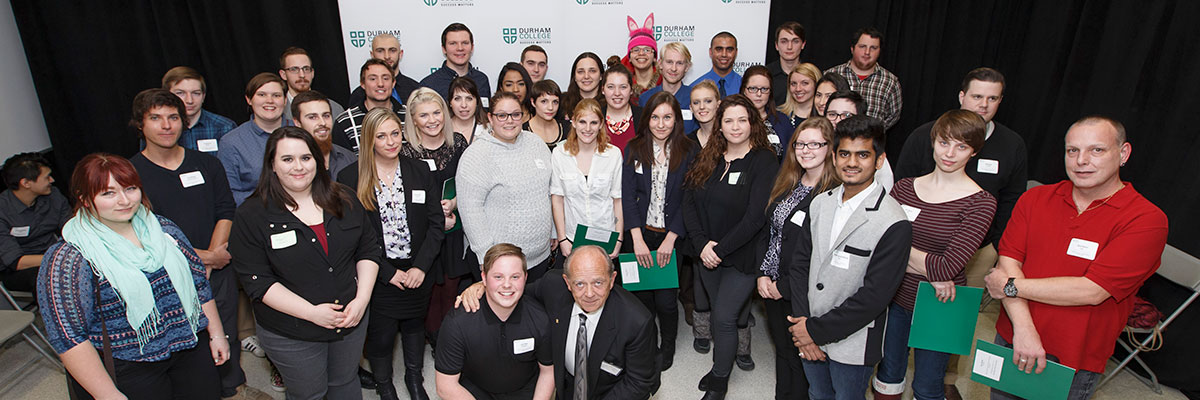 Durham College Student and Donor Recognition Evening January 25, 2016