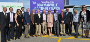 GO Train services to extend through Oshawa into Courtice and Bowmanville by 2024.