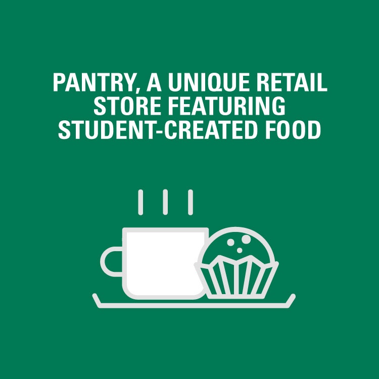 Pantry, a unique retail store featuring student-created food