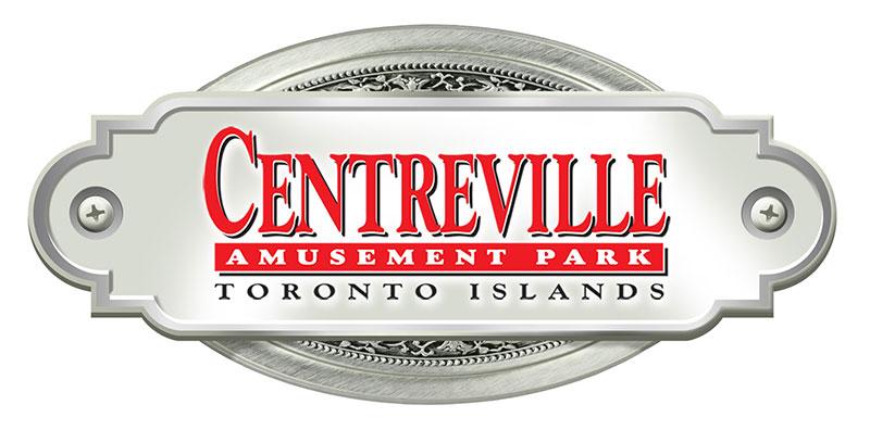 Logo for Centreville Amusement Park.