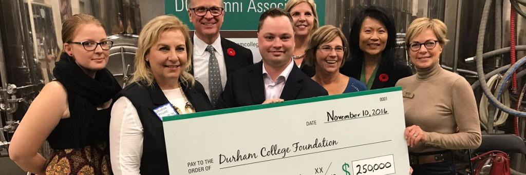 Alumni Association donate $250,000 to Durham College