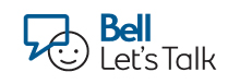 Bell Let's Talk graphic