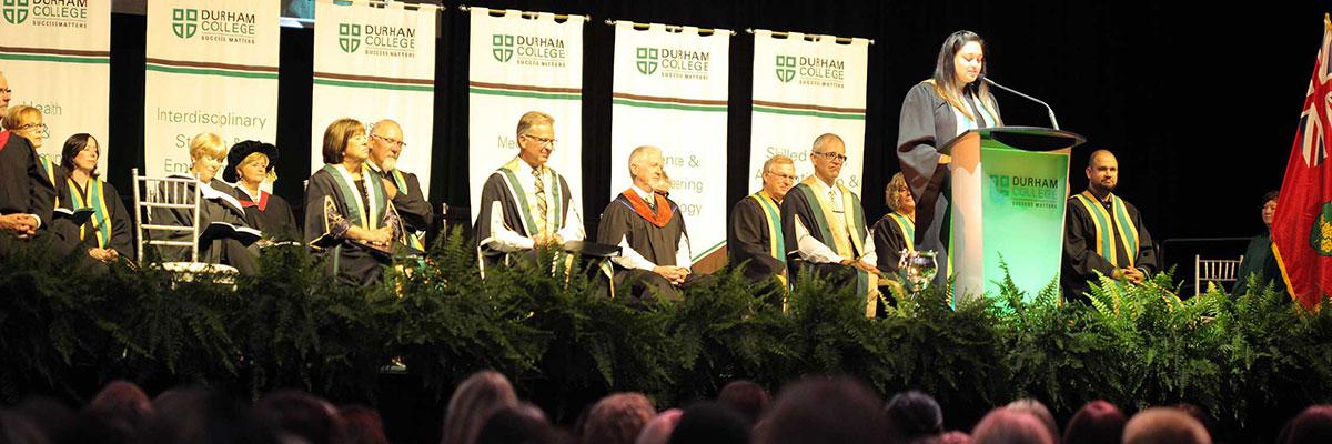 Durham College convocation ceremony