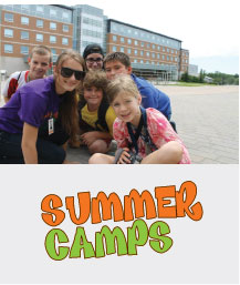 Coned Summer camp ad