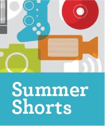 Summer shorts ad