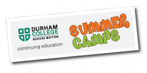 Logo for Summer camps at Durham College