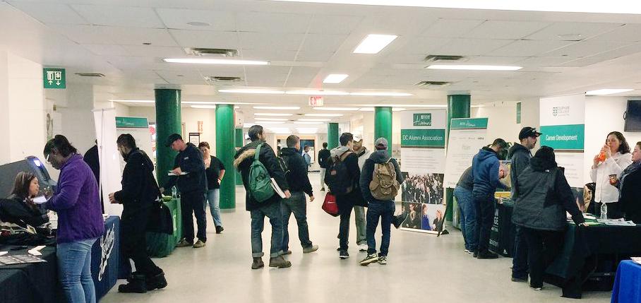Students at Countdown to grad.