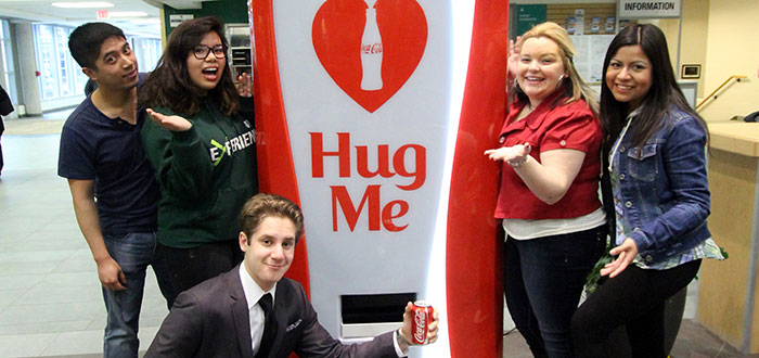 Image result for coca cola free hugs