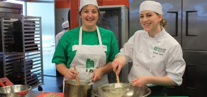 Grade 11 and 12 students participate at Durham College's (DC) third annual Epic Mac N' Cheese competition hosted at the college's W. Galen Weston Centre for Food (CFF).