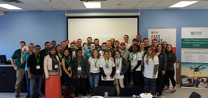 DC Hackathon students