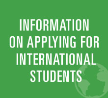 Information on applying for International Students