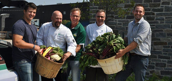 Centre for Food students yield first beet harvest at Windreach Farm