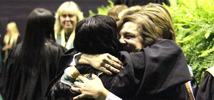 Durham College graduates at Fall Convocation 2013