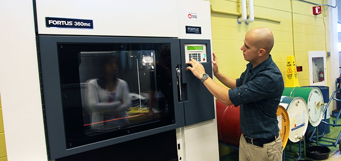 an example of a 3D printer