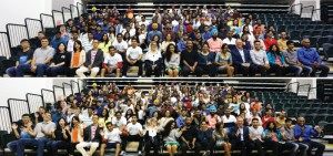 Over 350 International students at DC .