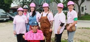 crew 5 at habitat for humanity build