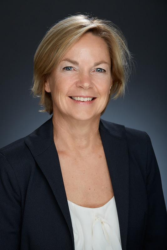 Portrait shot of Sally Hillis.