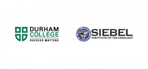 Durham College and Siebel Institute of Technology logos