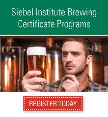 Siebel Institute Brewing Certificate Programs