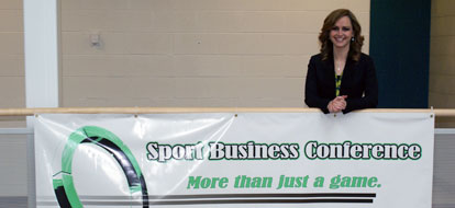Sport Business Management Students Hold College S First