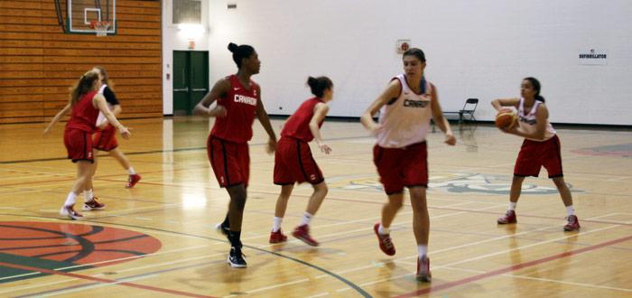 Team Canada Preps For U19 World Championship At Durham